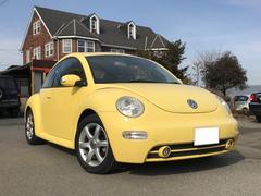VW ニュービートルプラス 黒革 HDDナビ ETC サンルーフ Sヒーター