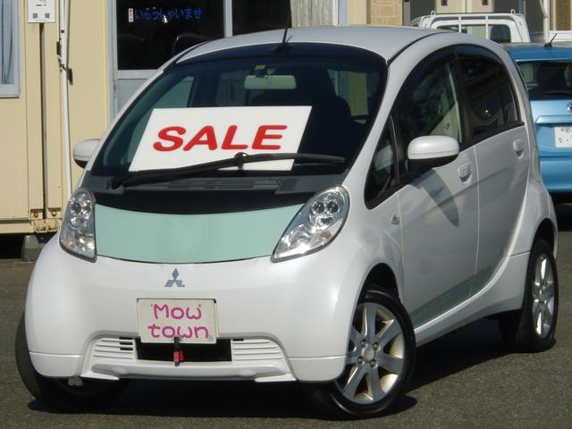 三菱 アイミーブ ベースグレード 車検証表記25キロワット 走行2.3万キロ スマートキー リアプライバシーガラス 100v充電ケーブル 満充電走行距離目安103キロ表示