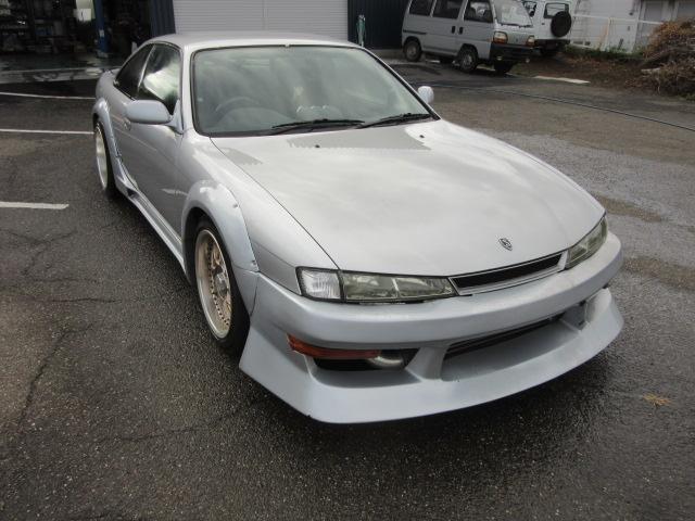 日産 S14改 ターボ 5速マニュアル エアロ ローダウン