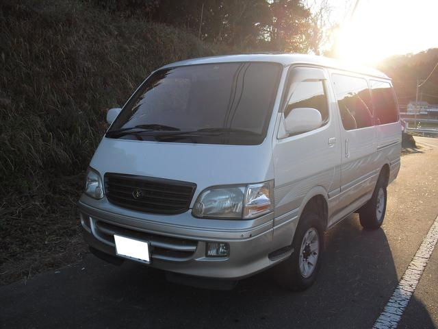 「トヨタ」「ハイエース」「ミニバン・ワンボックス」「栃木県」の中古車