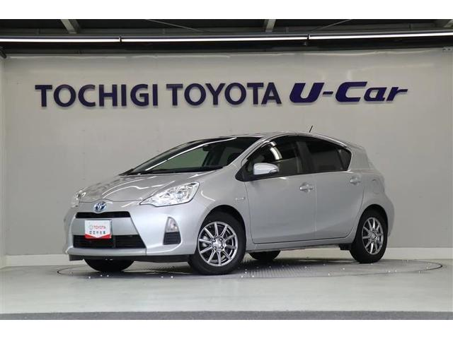 トヨタ アクア S ワンオーナー車 メモリ-ナビ キ-レス