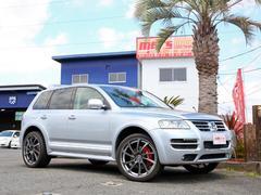 VW トゥアレグW12 スポーツ 4WD エアサス交換済 100台限定車