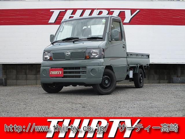 日産 4WD 5速マニュアル 4WD エアコン スタッドレスタイヤ