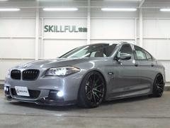 BMW535iMスポーツエアロ20AW車高調マフラー革SRブレンボ