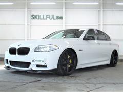 BMW528iMスポーツ革エアロ20AW4本マフラー車高調ナビTV
