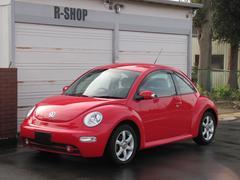 VW ニュービートルサルサ 赤黒ツートン本革シートヒーター16AW ETC CD