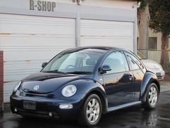 VW ニュービートルターボ 黒革シートヒーター 天井張替え済み ナビCDETC