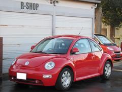 VW ニュービートルワンオーナー 内装赤パネルコンソール左右ベント HDDナビ