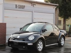 VW ニュービートルターボ 黒革シートヒーター キーレス ETC 天井張替え済