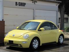 VW ニュービートルウイング付きCDETC記録簿付キーレスWエアバックABS