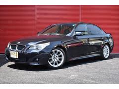 BMW525i Mスポーツパッケージ サンルーフ 黒本革 D記録簿
