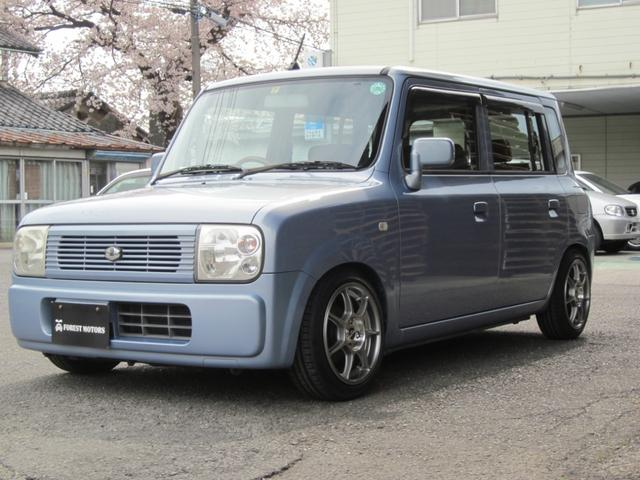 スズキ G NAエンジン マニュアル換装 新品車高調 SDナビ CD