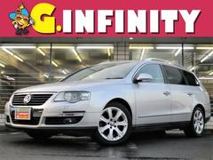 VW パサートヴァリアント2.0T 走4.6万km  DVDナビ 革電シート+ヒーター