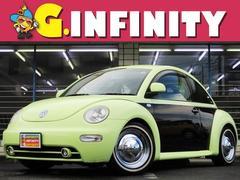 VW ニュービートルベースグレード 社外DVDナビ 社外16メッキW ローダウン