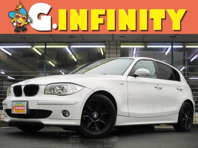 BMW 118i 外DVDナビ 純16黒AW シートカバー HID