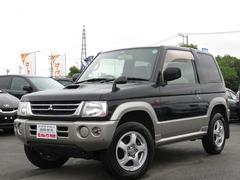 パジェロミニVR 1年保証付 4WD ターボ 背面タイヤ