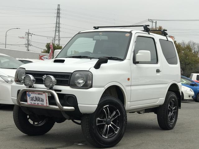 スズキ XG 4WD ターボ グリルガード 社外アルミ インチアップ