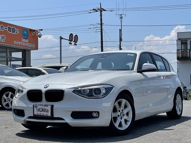 BMW 1シリーズ 116i 純正ナビ ETC Bカメラ スマートキー 純正アルミ 障害物センサー