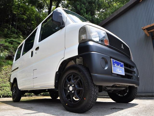 三菱 CD リフトアップサス 13インチアルミ 4WD 5F