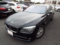 BMW750i 純正ナビフルセグ黒革シートETC