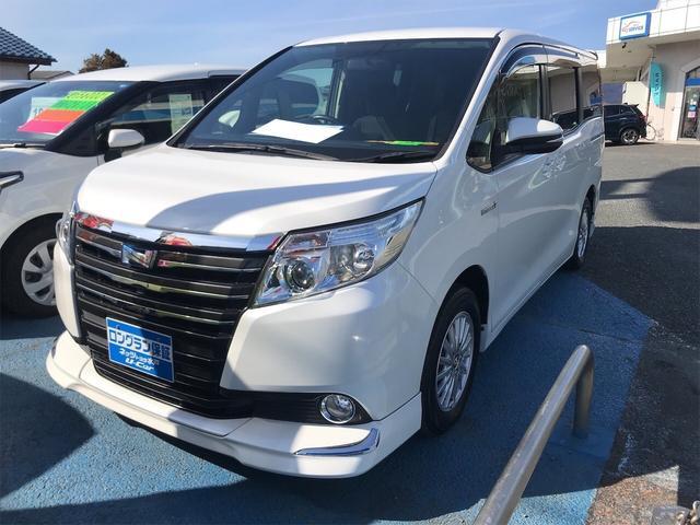 トヨタ ノア ハイブリッドG Wエアコン 両側PSドア シートヒータ