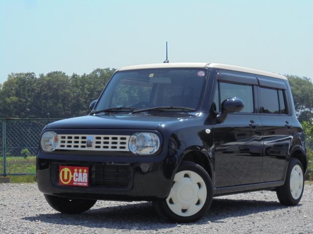 スズキ G 黒ベージュツートーンクリーニング済み外装磨き済み 車検整備付