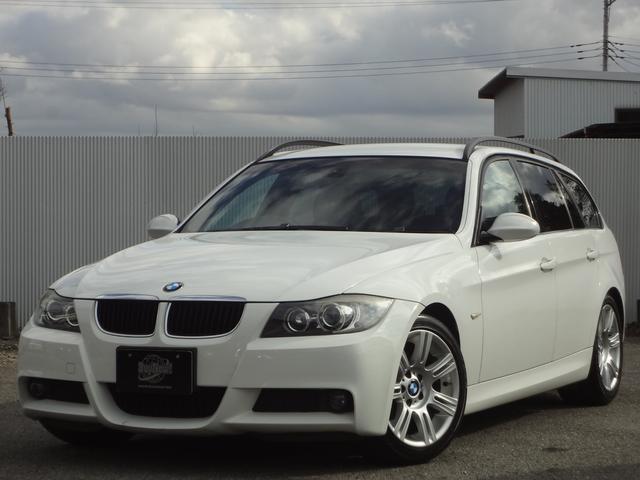 BMW 3シリーズ 320iツーリング Mスポーツパッケージ HID ETC ワンオーナー 純正Mスポーツ17インチアルミ スマートキー パワーシート パワーウインドウ パワーステアリング イカリング MTモード付