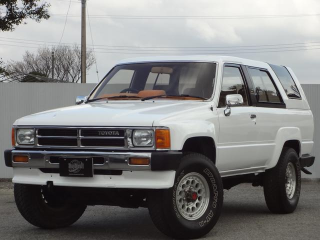 トヨタ SSRブリハイ4WD社外アルミ