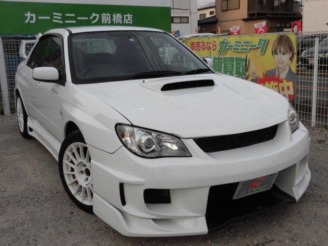 スバル WRX チャ-ジスピ-ドフルエアロ マフラ- Tベル済