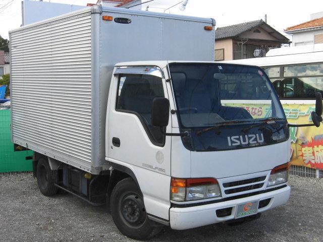 いすゞ キタムラアルミバン 2t積載 5速マニュアル エアコン