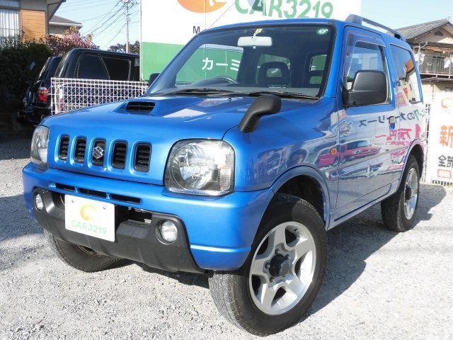 スズキ XC 買取車両 社外オーディオ ETC 2WDから4WD切替可能 スペアタイヤ有 ルーフレール