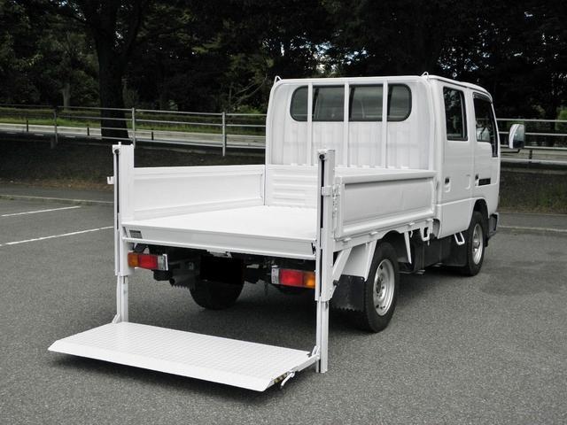 日産 ダブルキャブ パワーゲート 4WD
