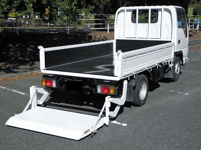 マツダ タイタントラック  2t低床 パワーゲート付き800kg型 荷台鉄板貼り 車両総重量4505kg