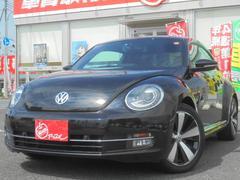 VW ザ・ビートルターボ クールスターPKG 黒革シート 純SDナビ