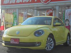 VW ザ・ビートルデザイン 1オーナー 外HDDナビ フルセグTV