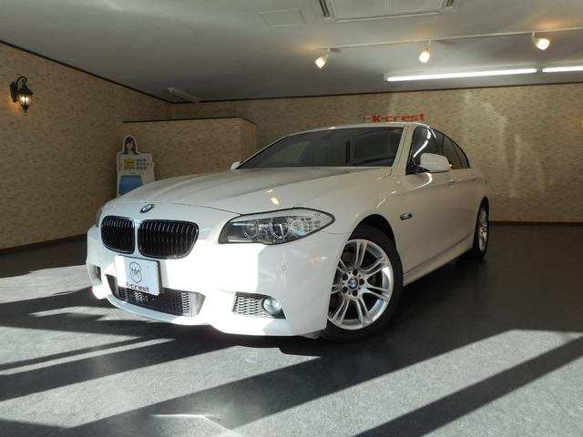 BMW 523iMスポーツ トランクスポイラー HDDナビTV