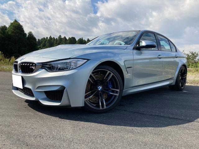 BMW M3 M3 ワンオーナーガレージ保管 ミシュラン19インチ純正新タイヤ 本革パワーシート