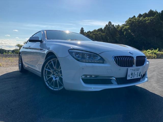 BMW 640iグランクーペ ETC サンルーフ バックカメラ 純正ナビ
