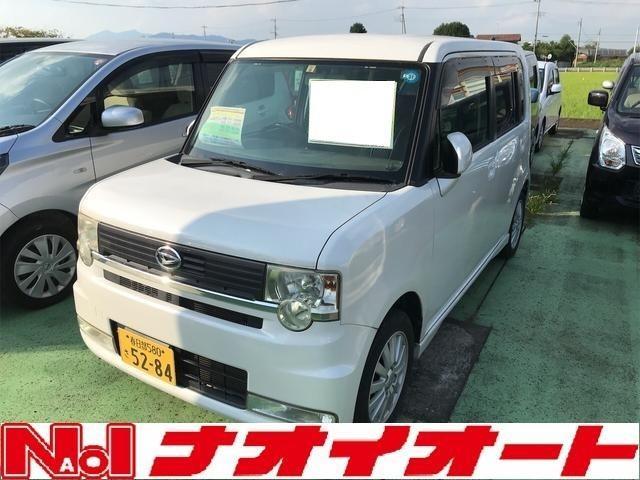 ダイハツ カスタム X スマ-トキ- 盗難防止 ABS ベンチシート フルフラット