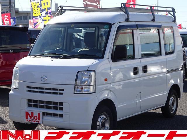 マツダ PA バン ルーフキャリア ナビ 2WD AT