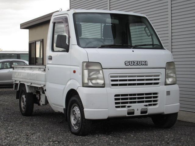 スズキ キャリイトラック 2WD エアコン (車検整備付)