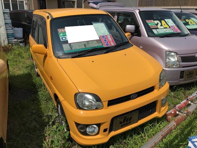 スバル RS 軽自動車 AT ターボ 保証付 エアコン AW14