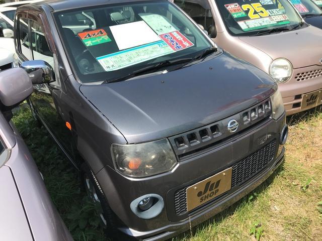日産 RX FOUR 軽自動車 4WD 4AT 保証付 AC AW