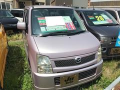 AZワゴンFT ポータブルナビ エアロ 軽自動車 コラムAT 保証付