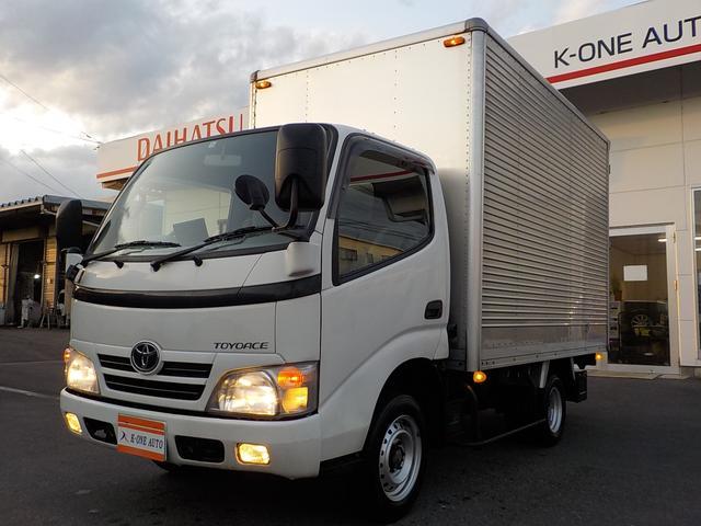 トヨタ トヨエース  アルミパネルバン1.5トン ディーゼルターボ エンジン1KD