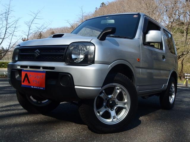 スズキ XG 4WD 純正アルミ CD ETC キーレス