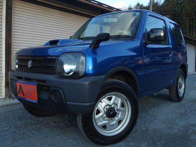 スズキ ジムニー クロスアドベンチャー XA 4WD 寒冷地仕様 CD ターボ