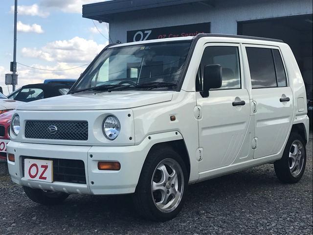 ダイハツ CD MD AW ホワイト 軽自動車