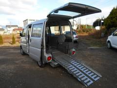 ミニキャブバンハーティーラン・スロープ・4WD・車椅子移動車・電動固定器具