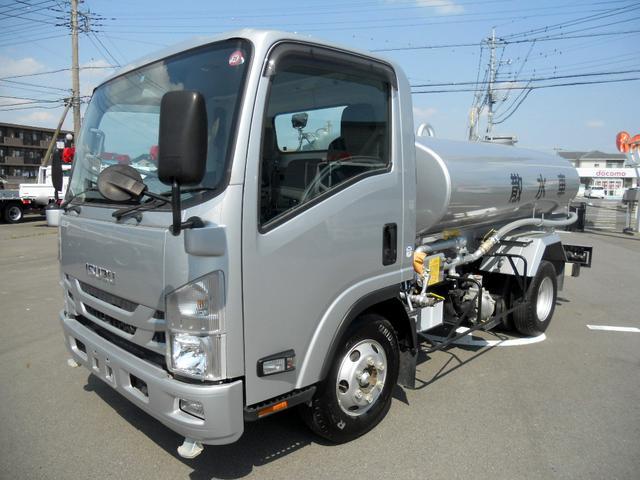 いすゞ 4t 極東製  LH04-304  PTO式散水車